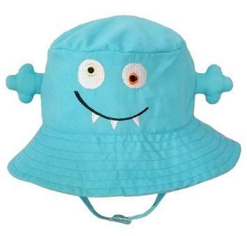 3e71cb826f2 Goofy Blue Monster Sunhat for Baby Boys and Toddler Boys ...