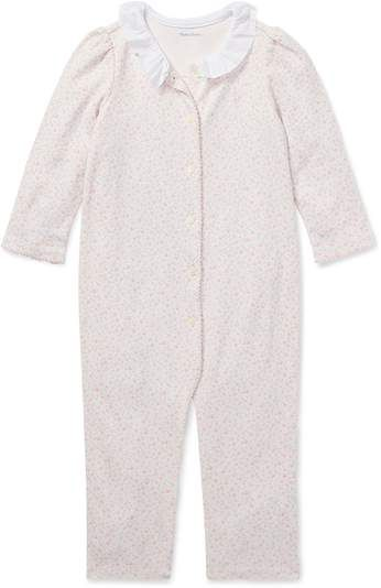 d160efa46 Ralph Lauren Kids Floral Ruffled Coverall | Products in 2018 ...