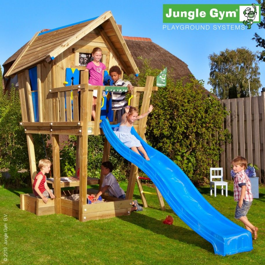 Landscape & Garden Jungle Gym Playhouses Wooden Play Houses For ...