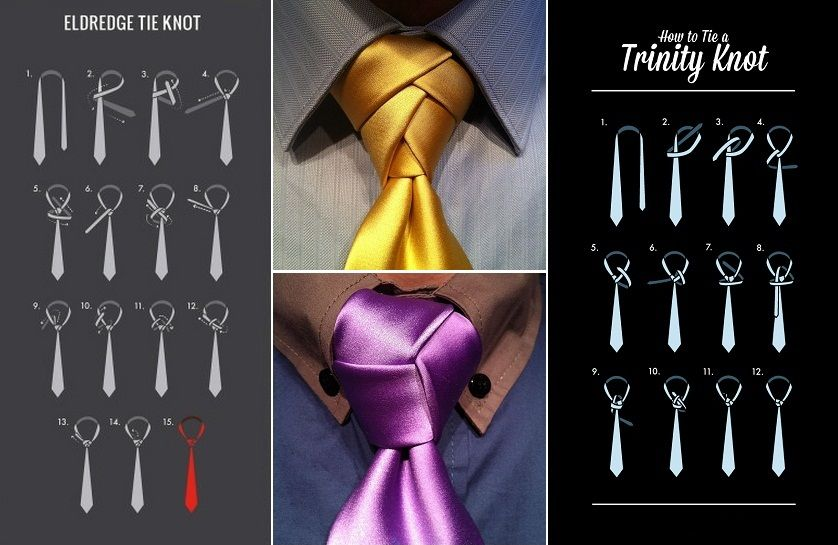 All Tie D Up Perfect Fashion Guide For Grooms On The Big Day Tie Knots Different Tie Knots Fancy Tie