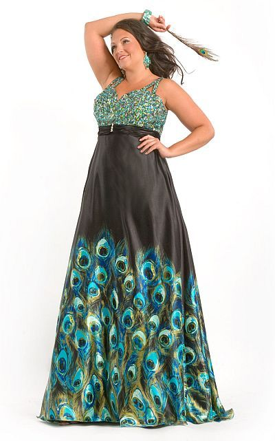 I think I need this dress...for something! Party Time Plus Size ...