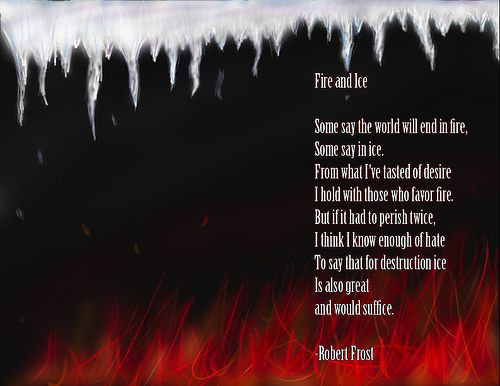 fire and ice poem