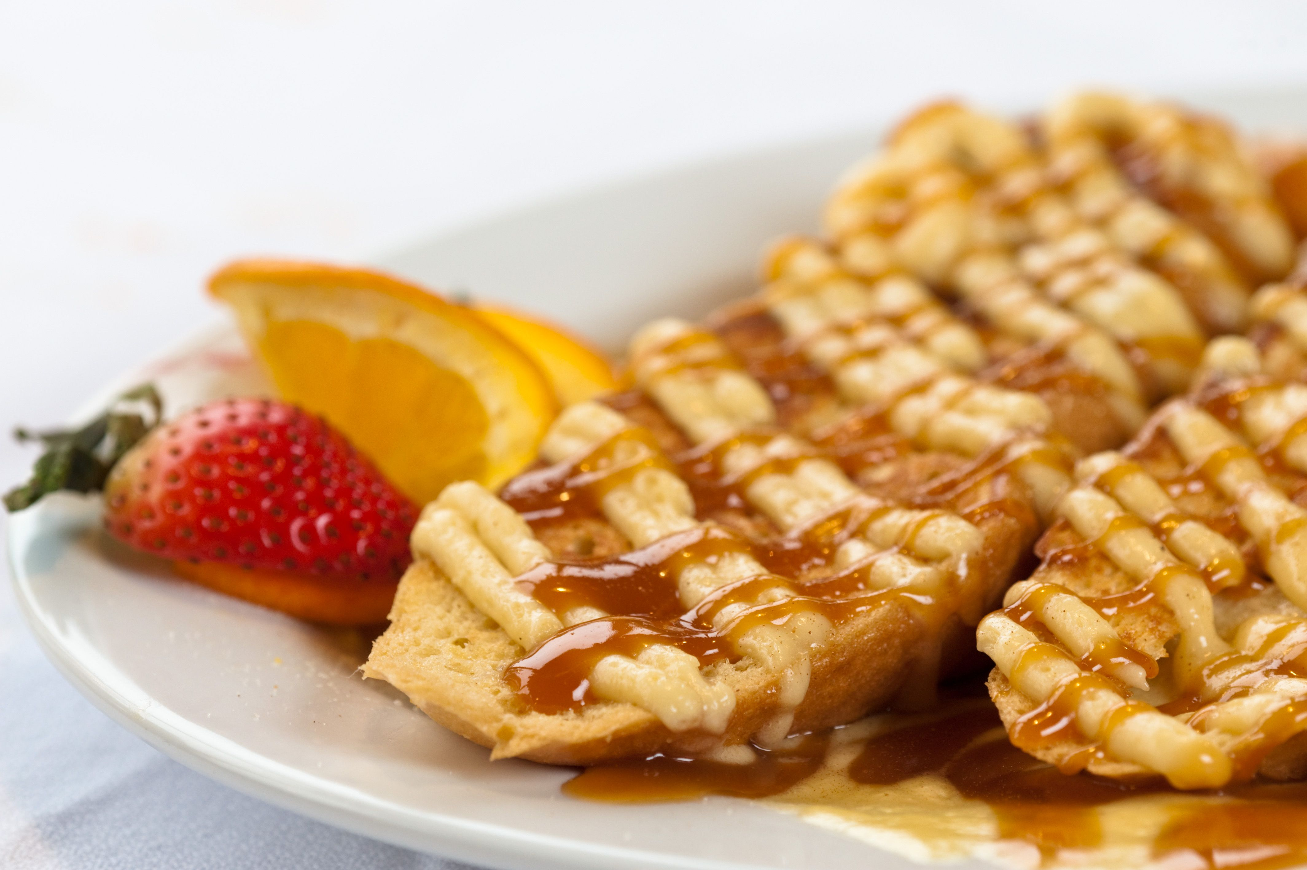 crème brulee french toast at stack u0027s of hilton head located on