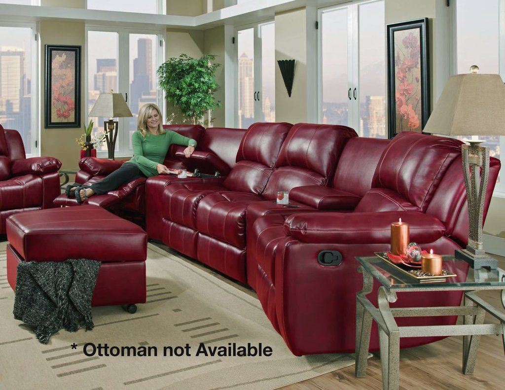 You will never want to leave your home to go out to the movies again after you experience the comfort of this theatre style sectional sofa by Corinthian : corinthian furniture sectional - Sectionals, Sofas & Couches