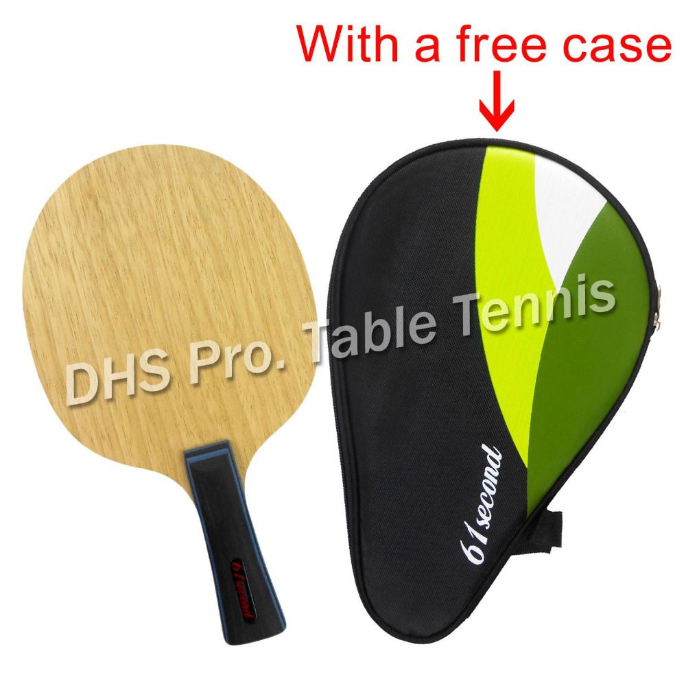 Huieson Carbon Fiber Wooden Table Tennis Racket Ping Pong Paddle Blade FL//CS
