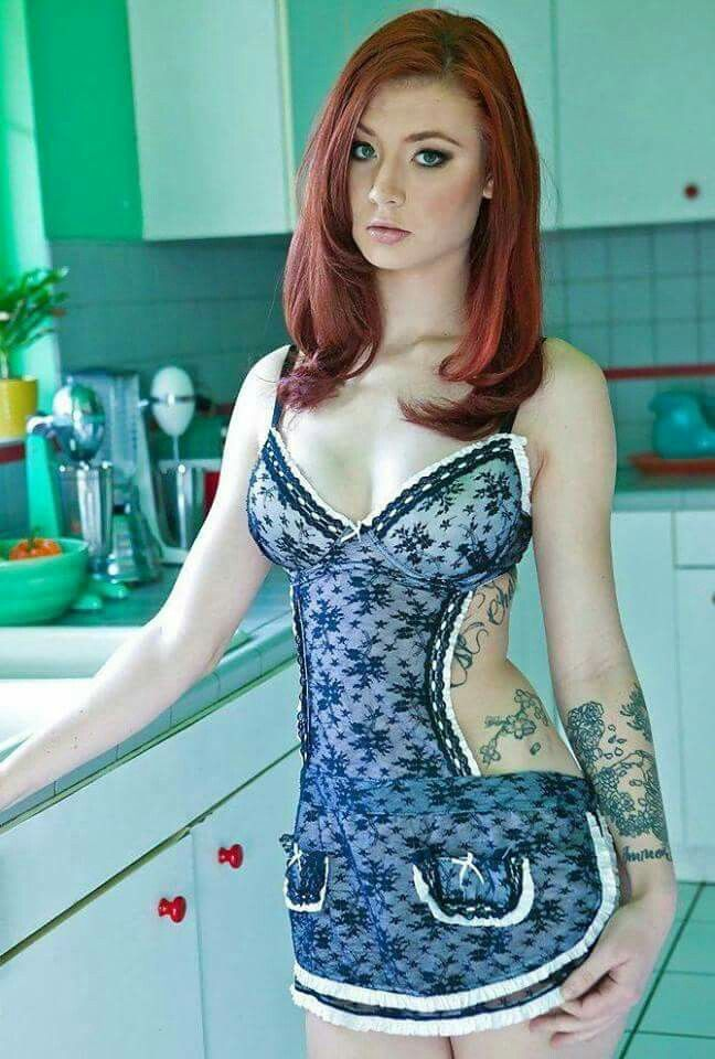 Recollect more naked redhead girls in kitchens