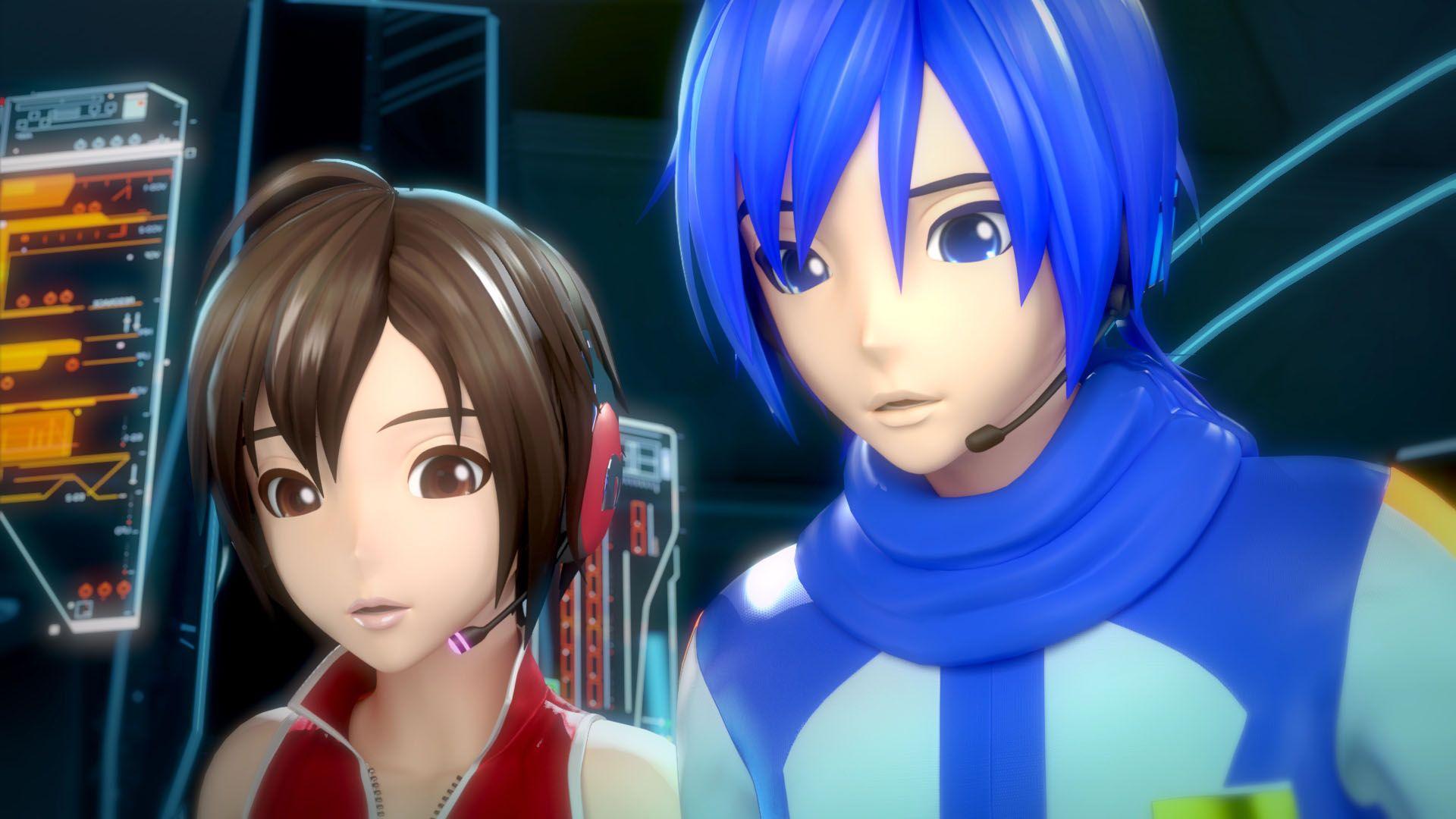 kaito+project+diva+f+wink | Hatsune Miku: Project Diva F 2nd terá um controle de Arcade no Japão ... Kaito