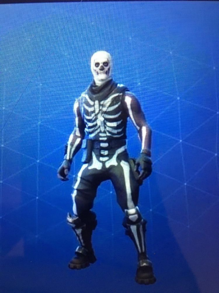Skull Trooper Ghoul Trooper Pickaxes Ultra Rare Skins Fortnite Ps4 Pc