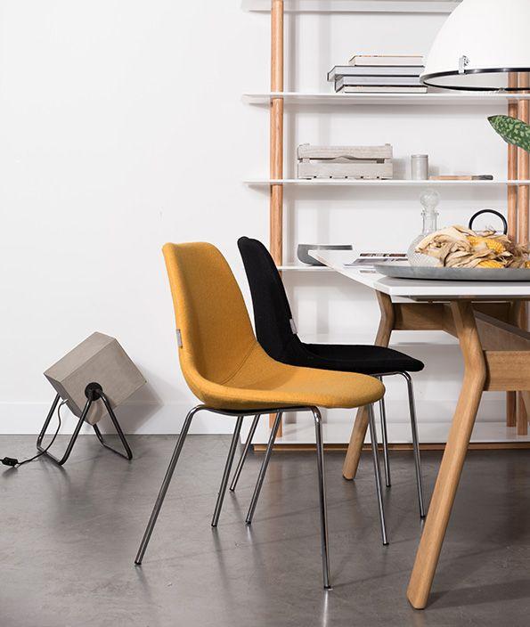 Fifteen Up is een retro stoel met een geweldig zitcomfort. Nu online verkrijgbaar bij Meubilex.