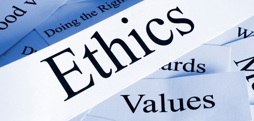 The Following List Of Principles Incorporate The Characteristics Values People Associate With Ethical Behavior This I Business Ethics Ethics Cost Accounting