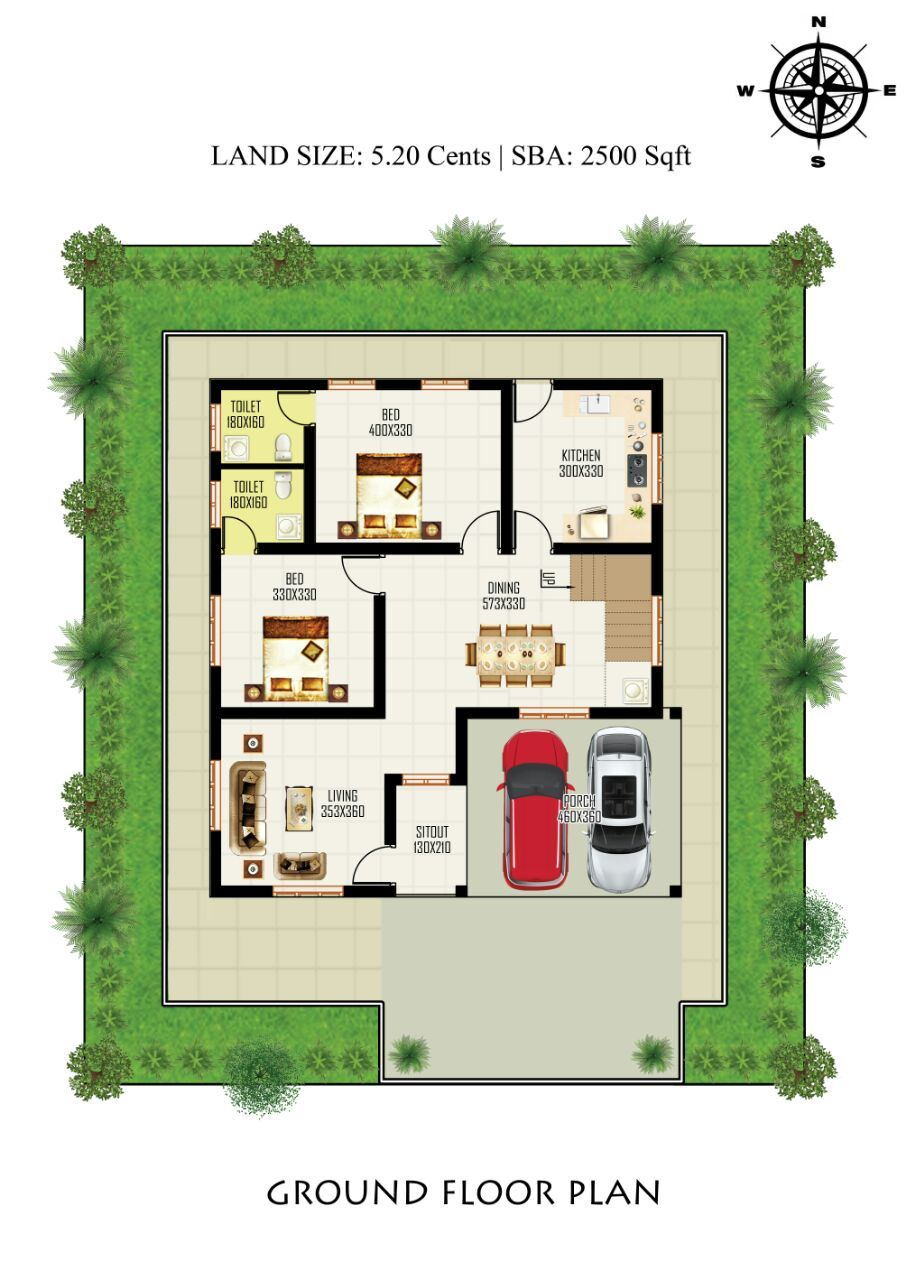 Independent House At Ottapalam Victoria Realtors Model House Plan House Construction Plan Simple House Design