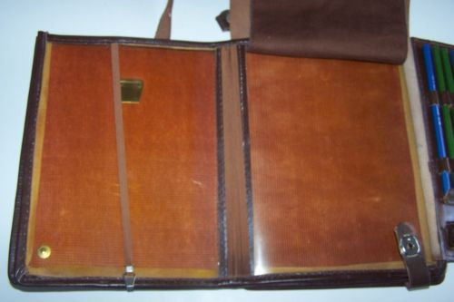 Soviet Officers Map Document Case Leather Russian from Moscow | eBay