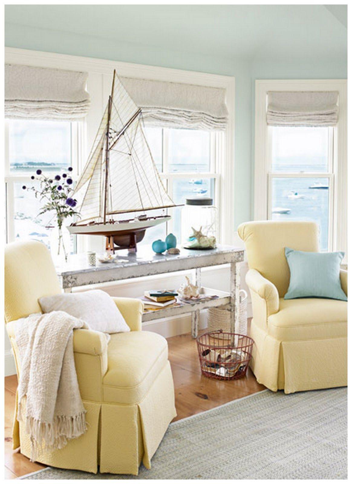 41 Easy Breezy Beach House Decorating Ideas | Pastel interior ...
