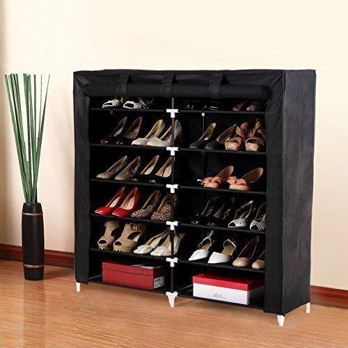 Shoes Rack Organizer Storage 7 Tiers 36 Pair Shoes Floor Portable Closet Cabinet Portablestanddurableshoesrackclosetself Shoes Rack Shoe Rack Closet Shoe