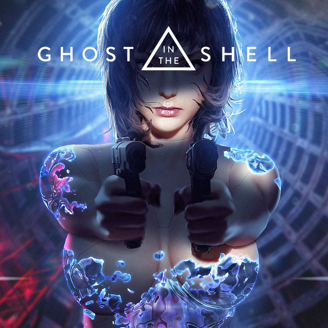 ArtStation GHOST IN THE SHELL fan art, R X Ghost in