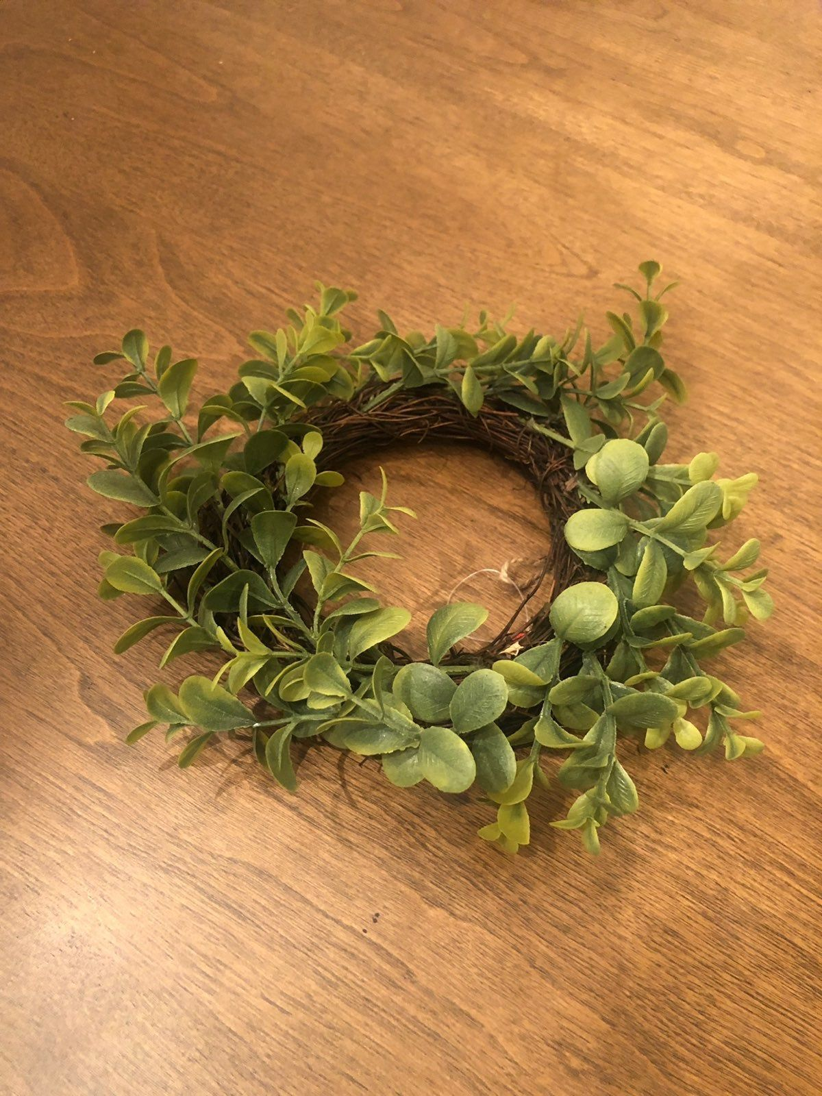 6 Small Boxwood Wreaths Farmhouse Style See Pictures For Size More Available Target Bullseye Dollar Sp Small Boxwood Wreath Boxwood Wreath Small Wreaths