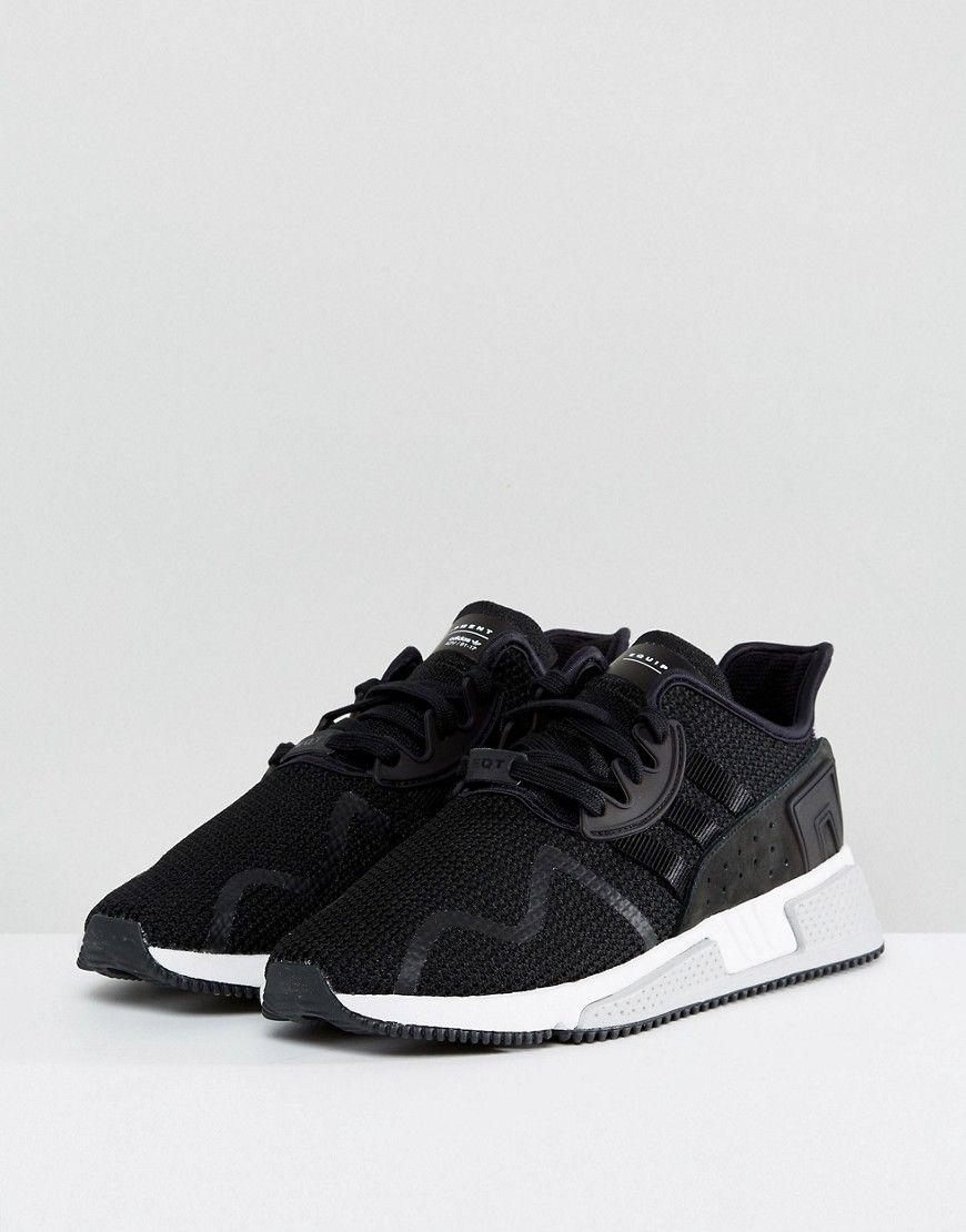 reputable site 72782 47e24 ADIDAS ORIGINALS EQT CUSHION ADV SNEAKERS IN BLACK BY9506 - BLACK.  adidasoriginals shoes