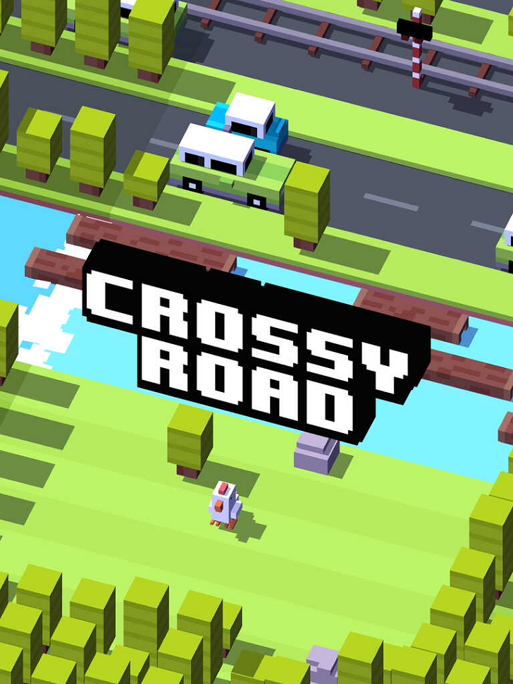 Crossy Road - Endless Arcade Hopper App by HIPSTER WHALE
