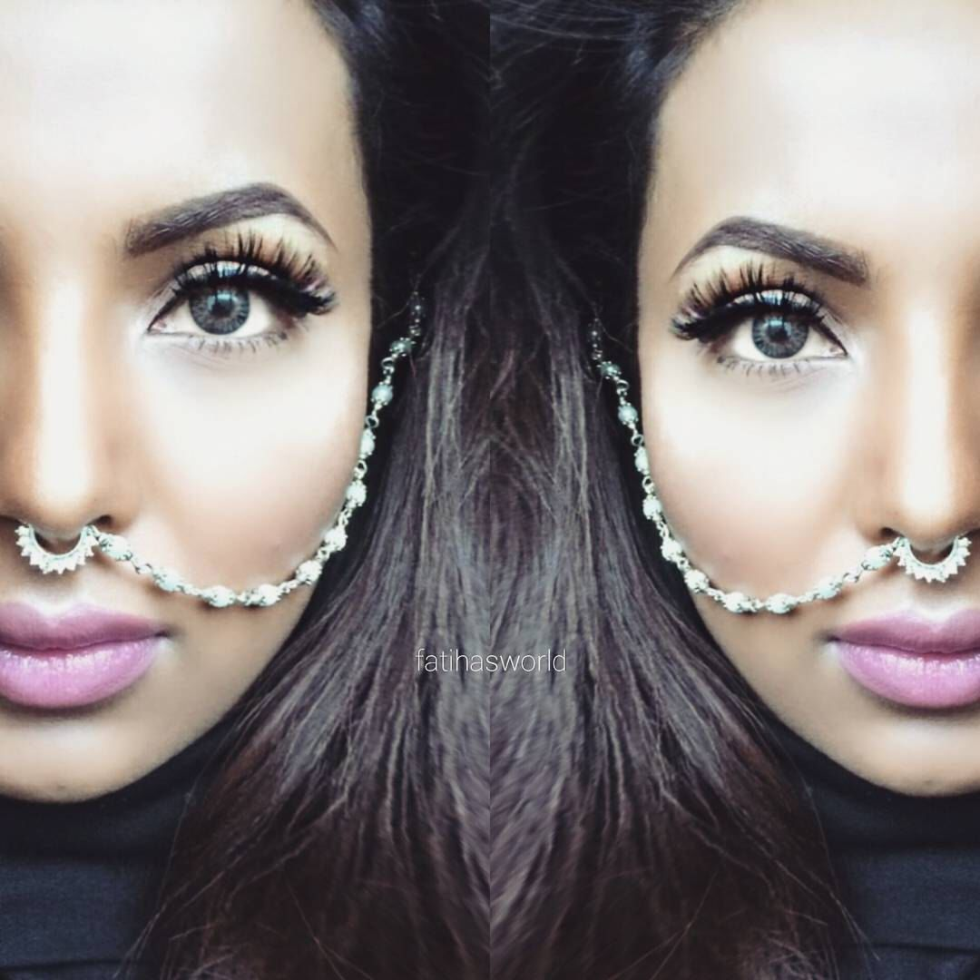 About nath nose ring mukku pudaka on pinterest jewellery gold nose - Indian Bollywood Ethnic Silver Tone Nose Ring Wedding Bridal Traditional Jewelry In Jewelry Watches Fashion Jewelry Body Jewelry