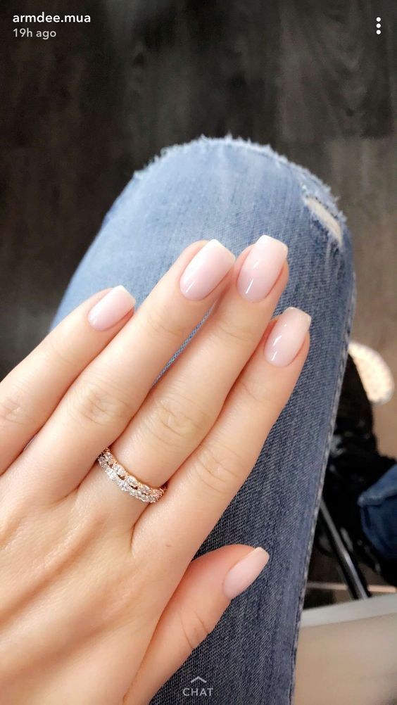 French Ombre Nails with Gold Glitter; baby boomer; coffin nails; ombre nails; ac...
