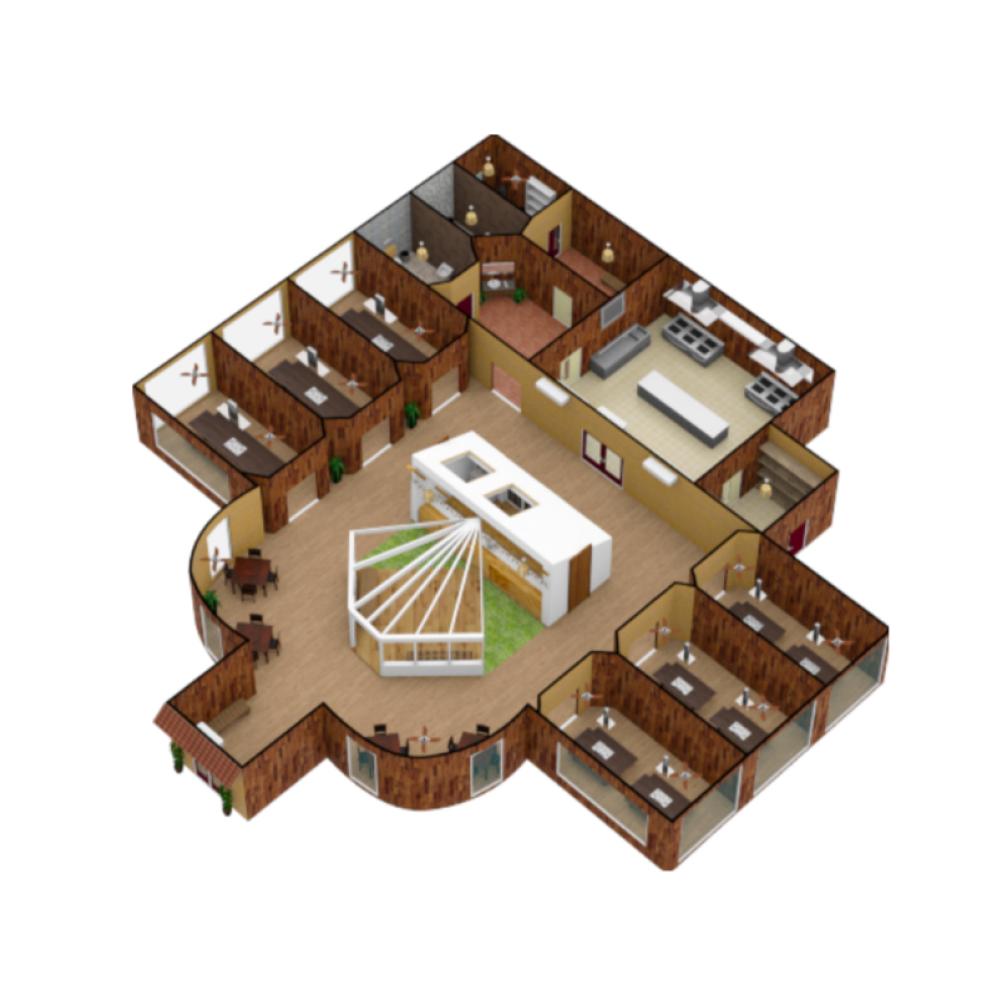 3d Plan Made On Floorplanner Com Create Floor Plan Interior Design Software Design Your Home