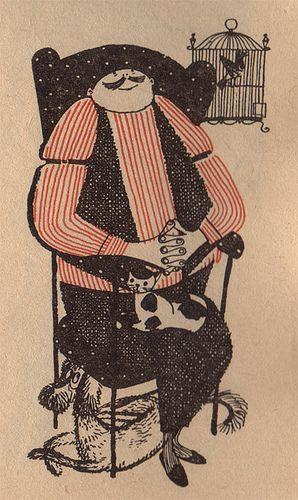 Man    Humpty Dumpty magazine (1960s)