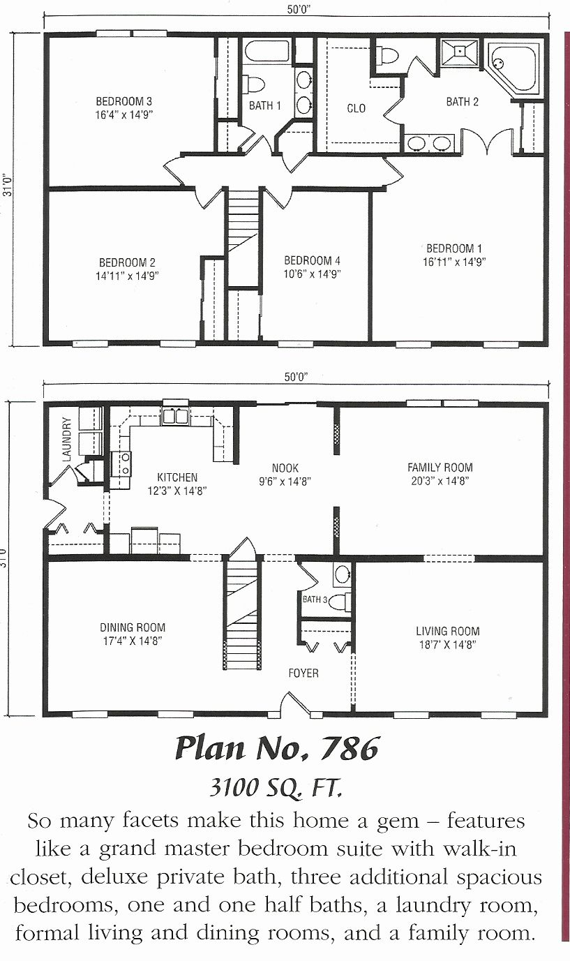 Garrison Colonial House Plans Ranch House Plans Colonial House Plans Ranch House