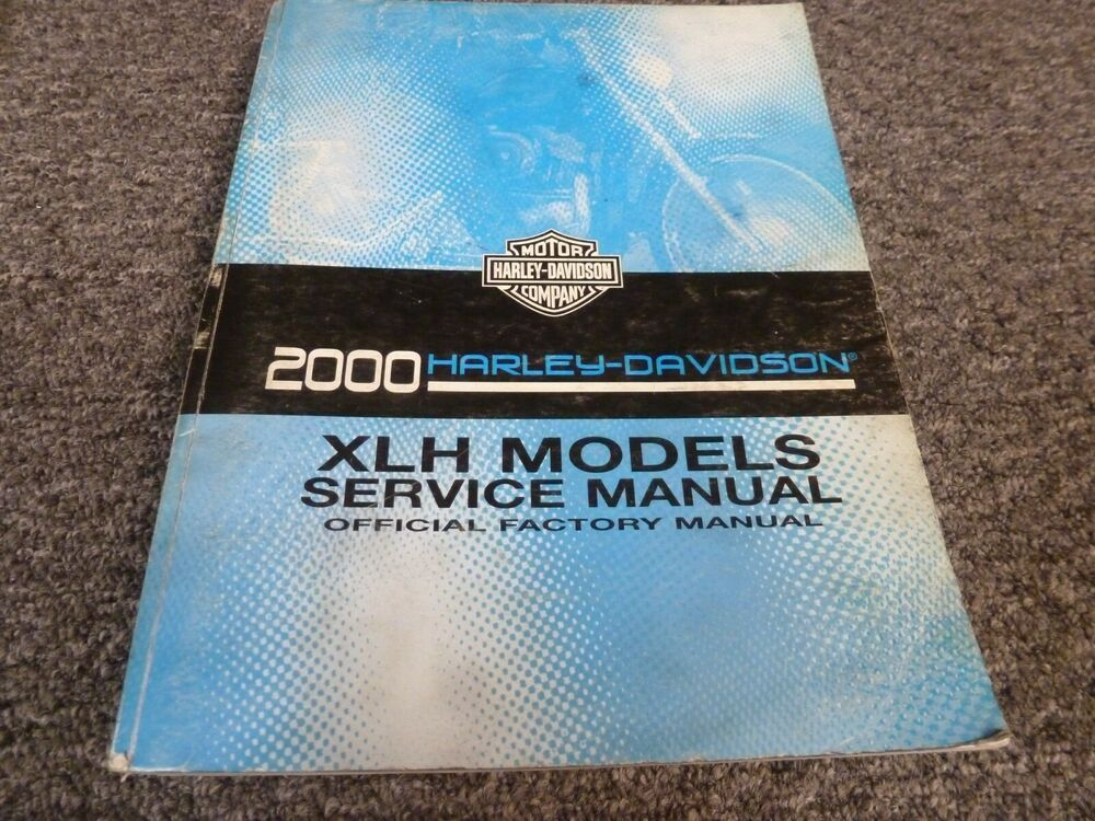 2000 Harley Davidson Sportster Xlh 1200 Custom Sport Shop Service Repair Manual 1200 Custom Harley Davidson Sportster Harley Davidson