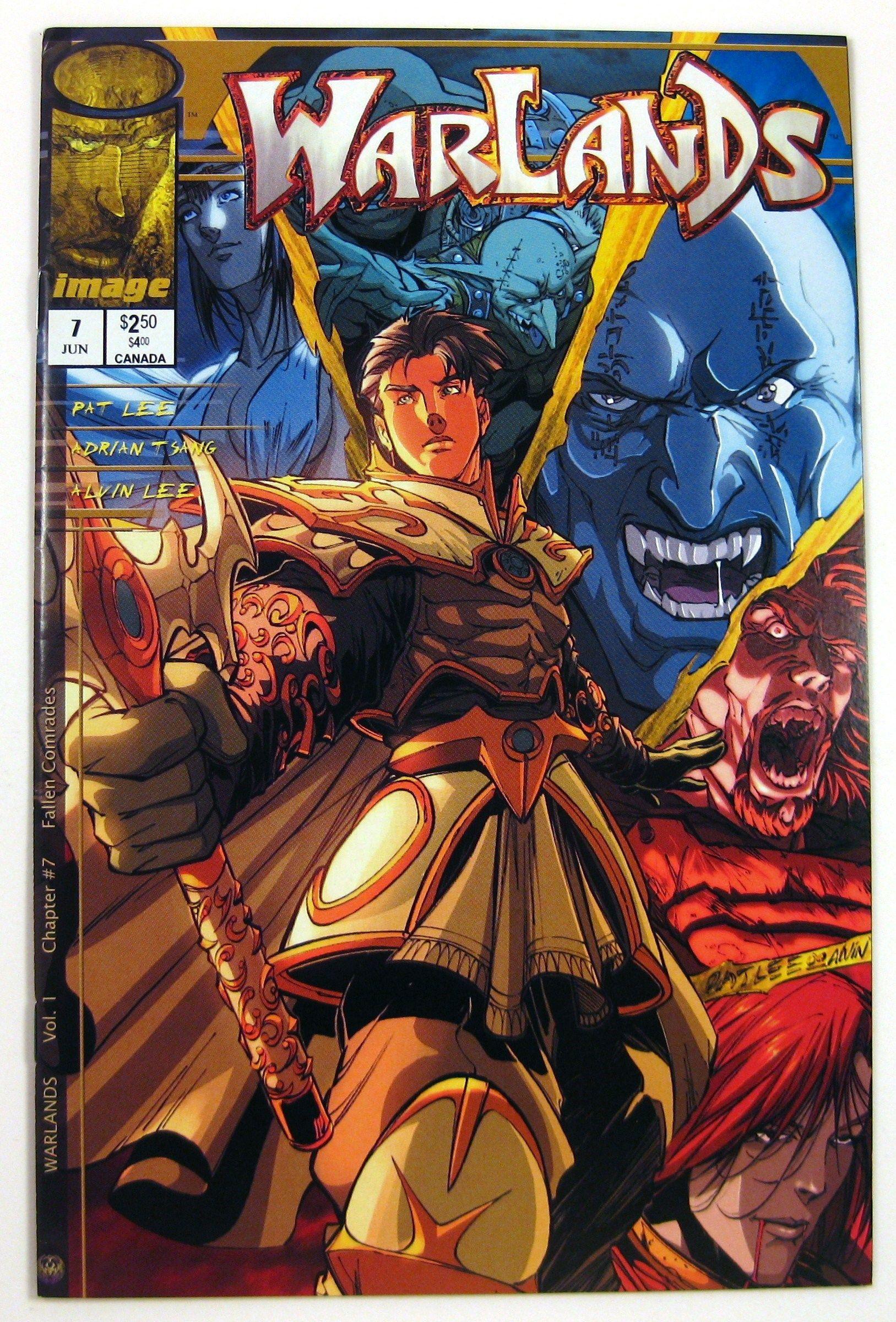 Warlands 7 Image Comics (2000) FREE Shipping Artist