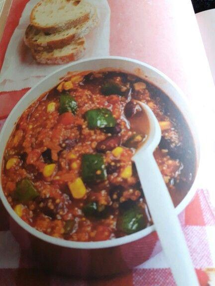 Pikantes Quinoa Chili