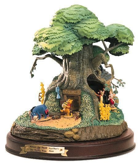 Winnie the Pooh Artwork WDCC Figurines Classics Collection Winnie