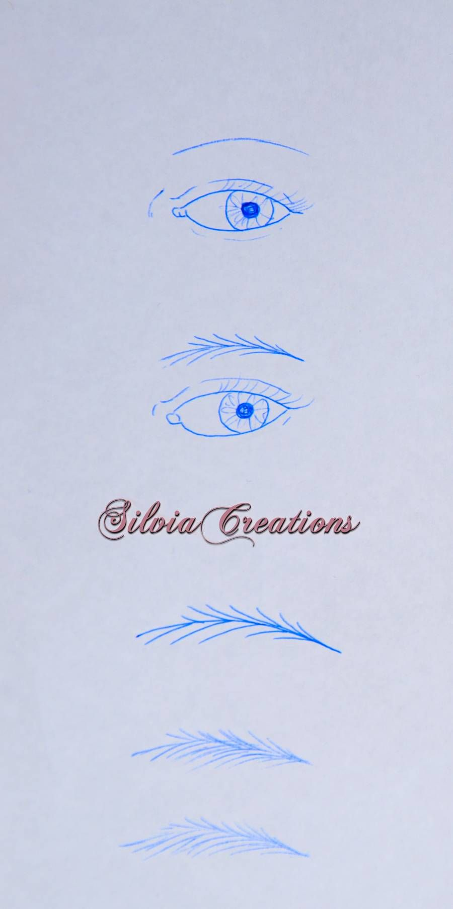 Free tutorial - How to paint eyebrows by Silviacreations ...
