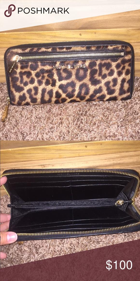 Michael kors Michael kors cheetah wallet. Great condition Michael Kors Bags Wallets