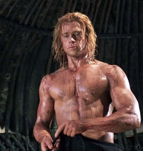 Nacked videos Brad pitt sex scene from the movie troy