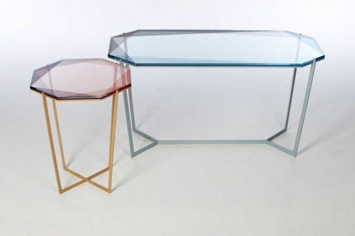 41 Variantes En Photos De La Table De Salon En Verre Table De Salon Table Basse Transparente Table Transparente