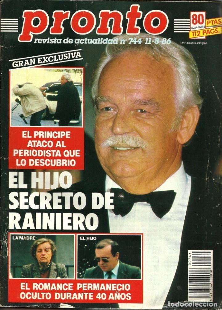 Revista Pronto nº 744 Estefanía de Mónaco, Isabel Pantoja ...