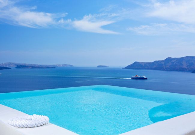 Canaves Oia Hotel Suites Infinity Pool Santorini Greece