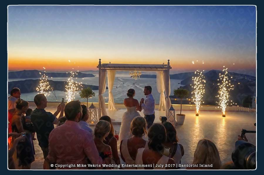 Pyroflash Fireworks for Weddings in Greece