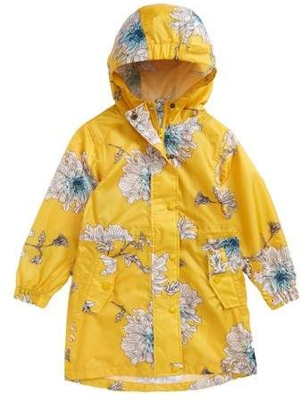 c6bc27bfef52 Joules Packaway Flower Print Rain Jacket  spring  toddlerfashion ...