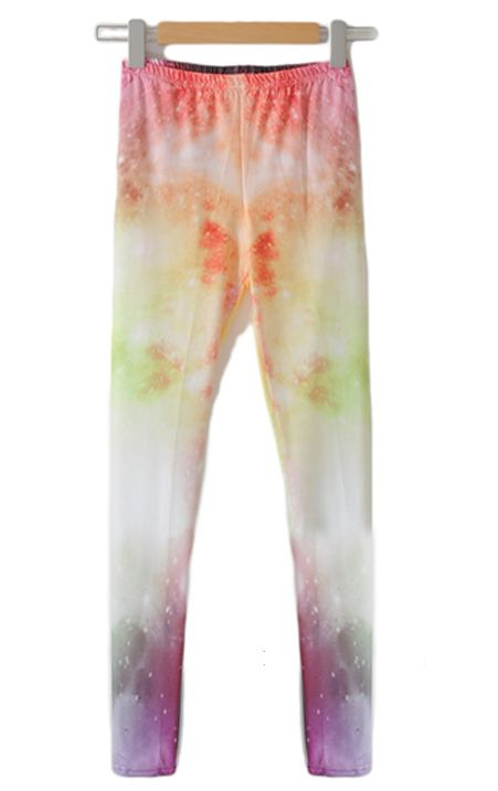 Star Universe Retro Gradient Leggings
