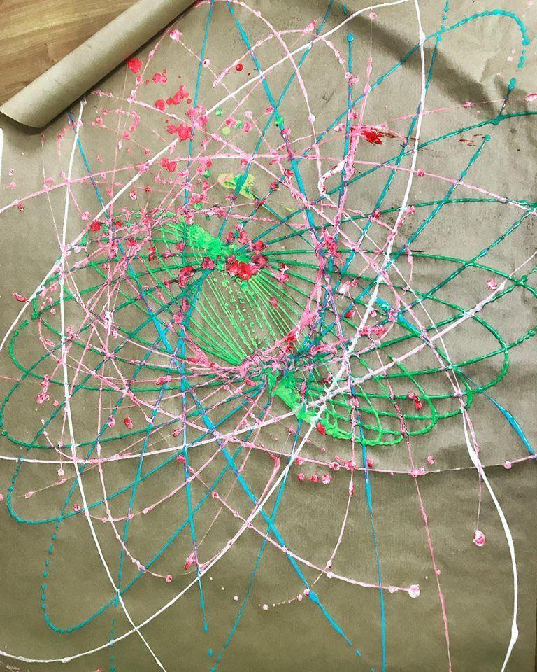 Actividades Con Ninos En Logrono Experimento Cientifico El Pendulo Dibujante Experimentos Cientificos Experimentos Actividades Para Ninos