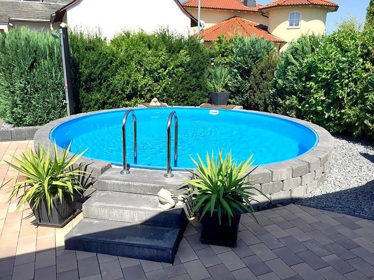 Stahlwandpool im garten  Outstanding Backyard Pool Ideas That Will Make You Say WOW ...