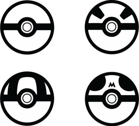 Pokemon Decal Google Search Cameo Pokemon Stencils