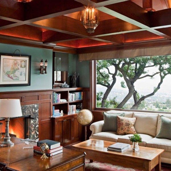 Homeoffice Den Design Ideas: 50 Unique Ceiling Design Ideas To Update The Forgotten