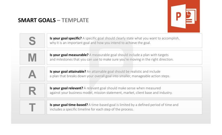 Smart Goals Tool Box: Smart = S - Is Your Goal Specific? – M - Is