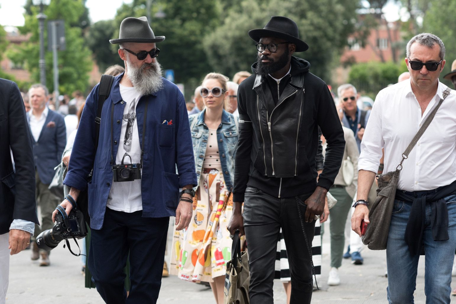 The Best Street Style from Pitti Uomo Spring 2017, Day 2 - -Wmag