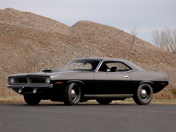 Cool Black Muscle Car Cars Motorcycle Pinterest Cars
