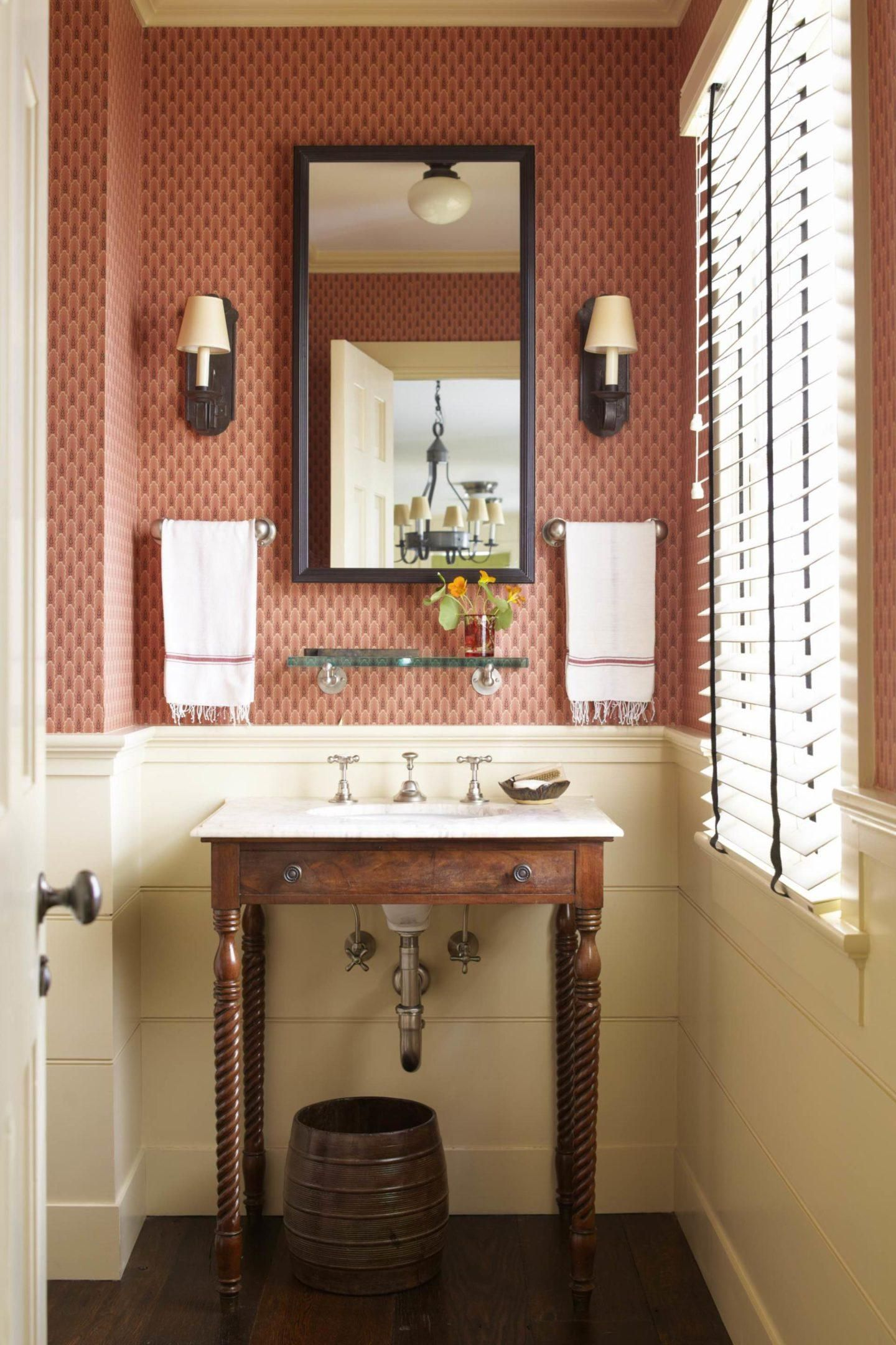 A New England Farmhouse By G P Schafer Architect In 2020 Bathroom Decor New England Farmhouse Bathrooms Remodel