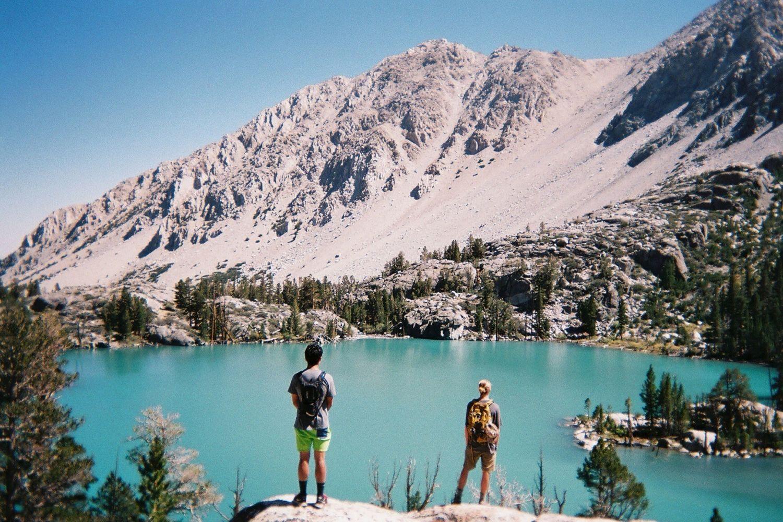 Just a few hours from LA lies a lifetime of explorable terrain http://bit.ly/SierrasKM  35mm film shot by Kellen Mohr  #hiking #adventure #mountains #film #photography