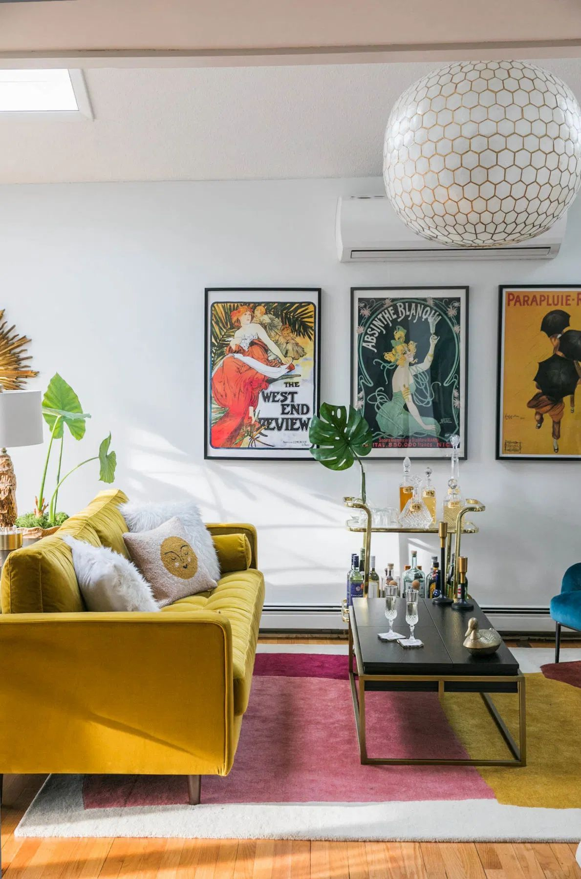 Photo of Vibrant Mid-Century Glam Living Room Refresh – THE REVEAL » Jessica Brigham